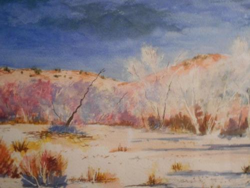 Desert Nightfall